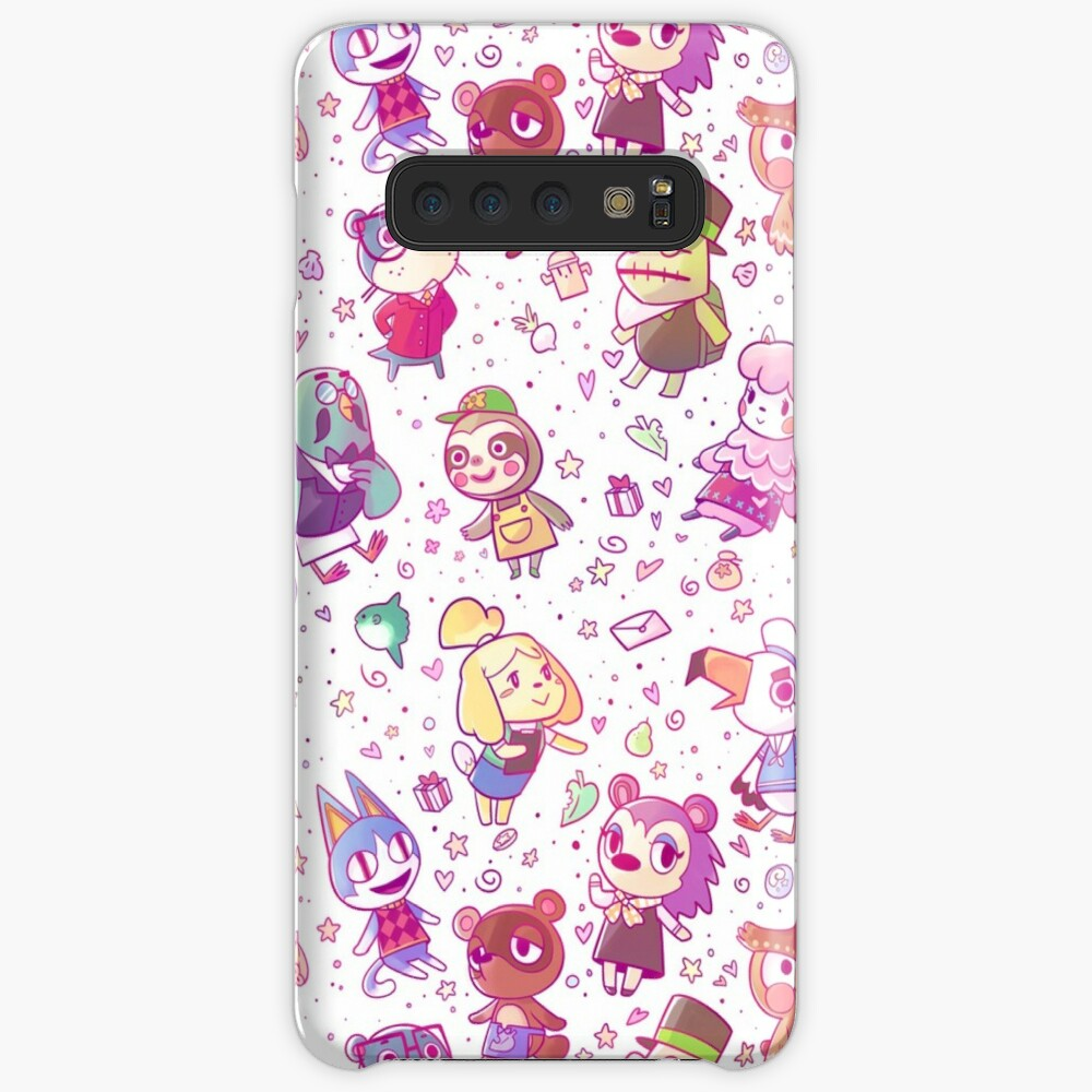 Animal Crossing Pattern Case & Skin for Samsung Galaxy