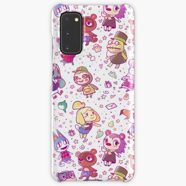 Animal Crossing Pattern Samsung Galaxy Snap Case