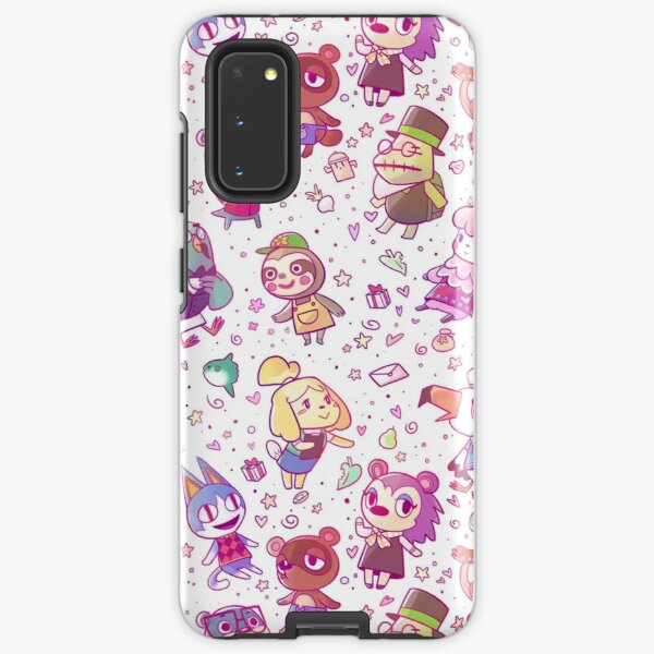 Animal Crossing Pattern Samsung Galaxy Tough Case