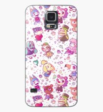 Animal Crossing Pattern Case/Skin for Samsung Galaxy