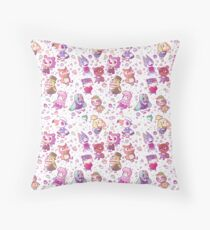 Animal Crossing Pattern Throw Pillow