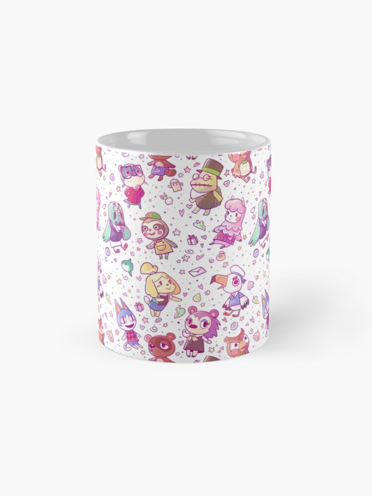 Alternate view of Animal Crossing Pattern Mug