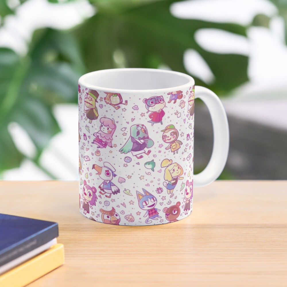 Animal Crossing Pattern Mug