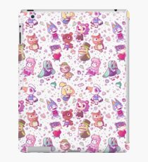 Animal Crossing Pattern iPad Case/Skin