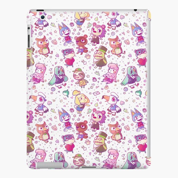 Animal Crossing Pattern iPad Snap Case