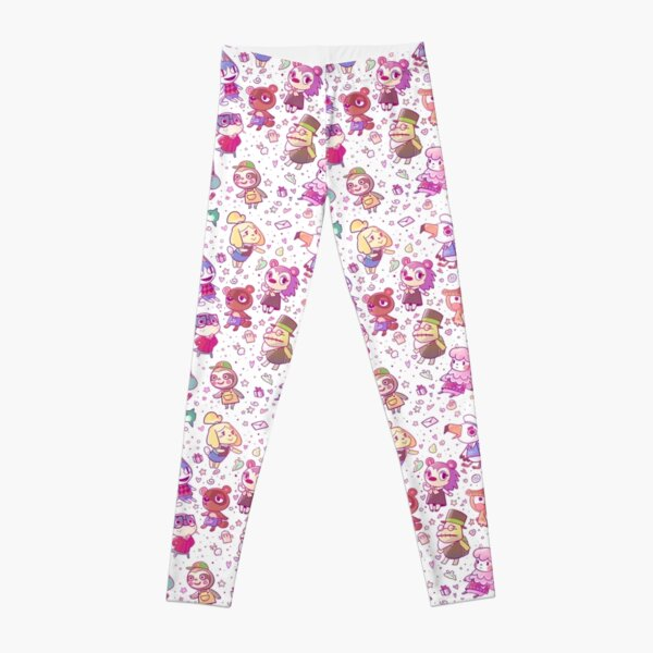 Animal Crossing Pattern Leggings