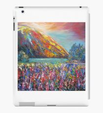 Mountain Lupins iPad Case/Skin