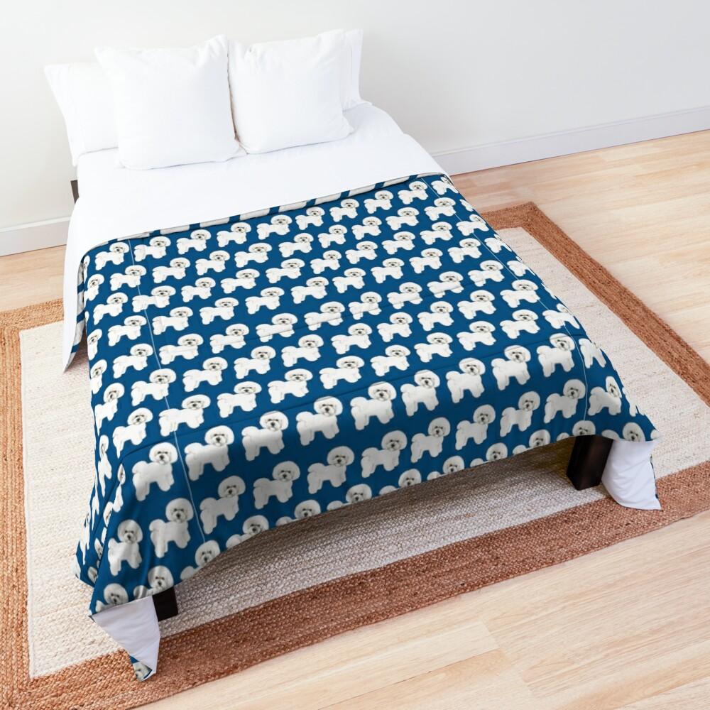 Bichon, best friend, loyal and fun! Comforter