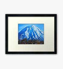 Mt Ngauruhoe Framed Print