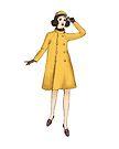 Yellow Coat  by HWCbyRuby