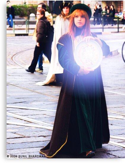 Magician  by Sunil Bhardwaj