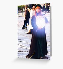 Magician  Greeting Card