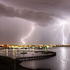 """Geelong Lightning - """"Three Strikes, Your Out"""" by Peter Redmond"""