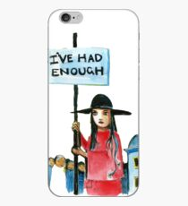 Enough already iPhone Case
