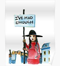 Enough already Poster