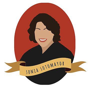Sonia Round Portrait by thefilmartist