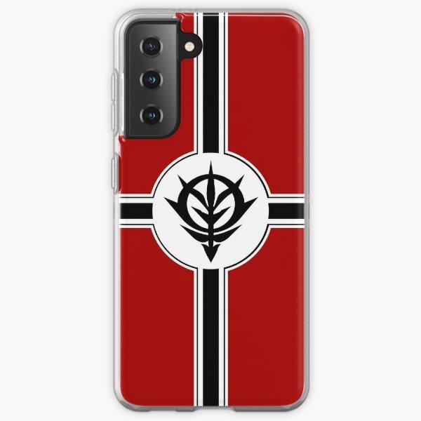 Mobile Suit Gundam Principality of Zeon Samsung Galaxy Soft Case