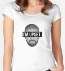 Drake - I'm Upset. Women's Fitted Scoop T-Shirt