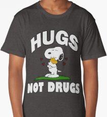 Hugs Not Drugs.  Long T-Shirt