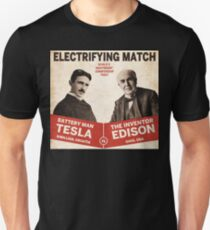 Edison vs Tesla T-Shirt