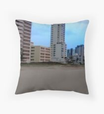 Surfers Paradise Sunrise Throw Pillow