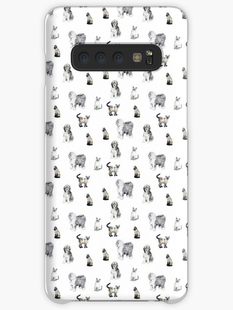 «Gatos siameses y perros de oveja» de Laura Ellen