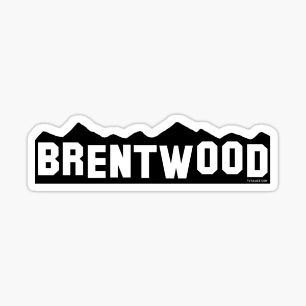 Brentwood Sticker