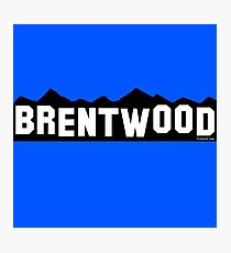 Brentwood Photographic Print