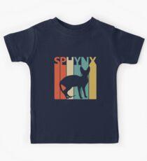Sphynx Katze Kinder T-Shirt