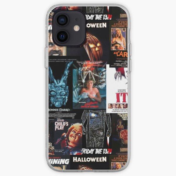 Colección de carteles de cine de terror - Clásicos Funda blanda para iPhone
