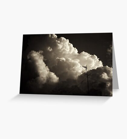Give me a sign of your presence Greeting Card