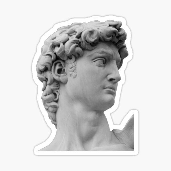 David - michelangelo Sticker