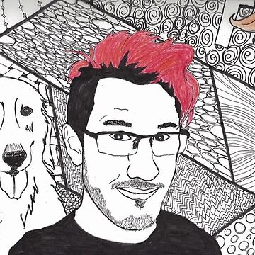 Markiplier and Chica by princessdean99