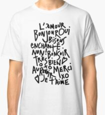 I HEART FRENCH Classic T-Shirt