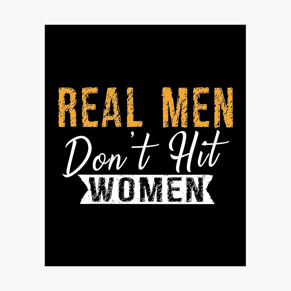 Why men hit women