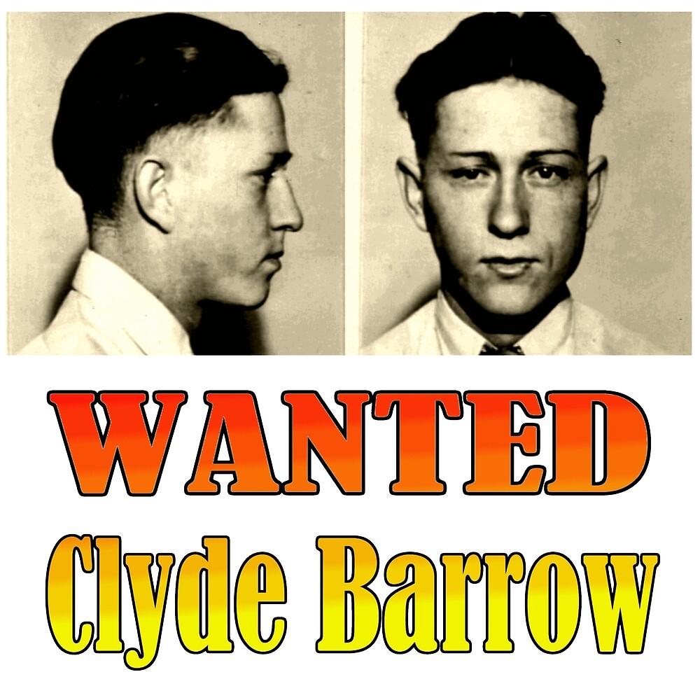 WANTED: Clyde Barrow by Chunga