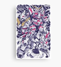 Unicorn Gundam Canvas Print
