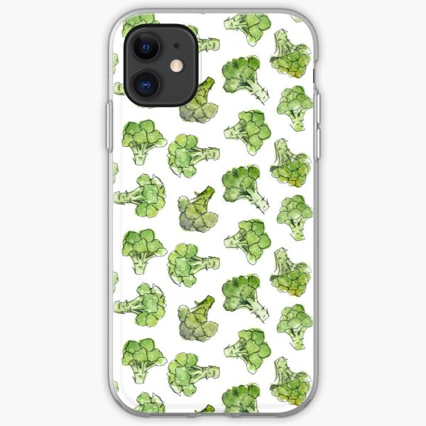 Broccoli - Scattered iPhone Soft Case