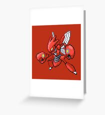The Pincer Pokemon Greeting Card