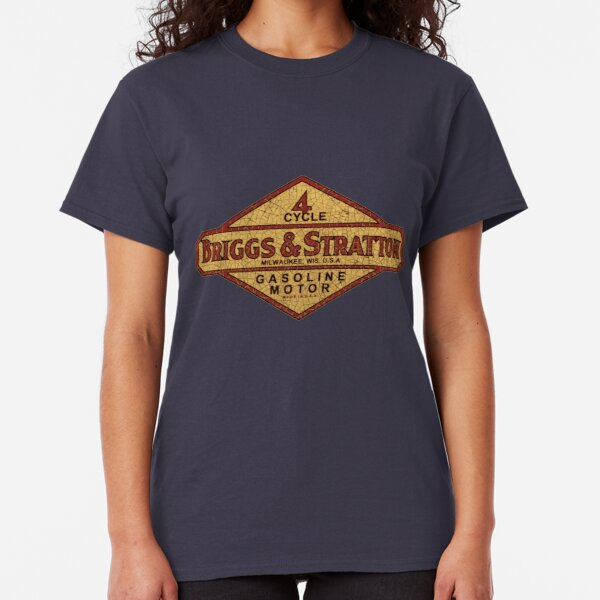 Briggs and Stratton vintage gasoline engines USA Classic T-Shirt