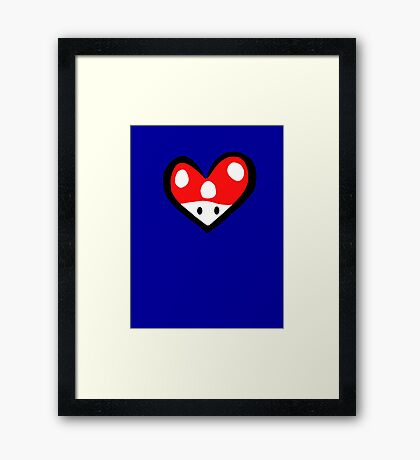 For the love of Mario Framed Print