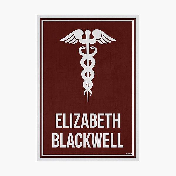 ELIZABETH BLACKWELL - Women in Science Photographic Print