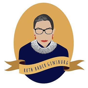 Ruth Round Portrait by thefilmartist