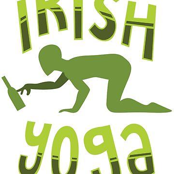 IRISH YOGA - FUNNY YOGA SHIRT | GIFT by UltimateTWorld