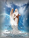 The Light Of The Holy Spirit Angel by Marie Sharp