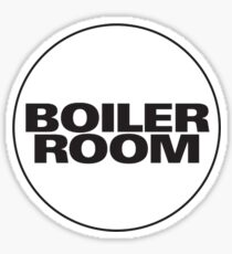 Boiler Room Sticker