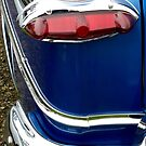 Red White & Blue~ 1951 Ford ~Taillight by Elaine Bawden