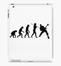 Evolution des Man Gitarristen iPad-Hülle & Klebefolie