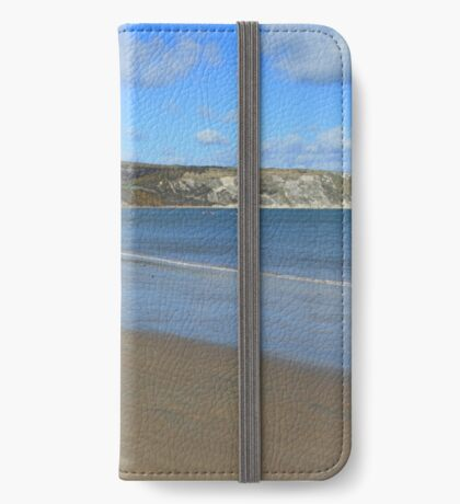 Swanage Beach & Ballard Down iPhone Wallet
