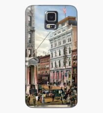 Rare large view of the New York Stock Exchange 1882 Case/Skin for Samsung Galaxy